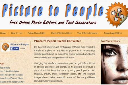 web Merubah Foto Jadi Sketsa Pensil Online