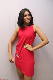 Spatika Surapaneni in Red Tight Dress at FBB Miss India 2017 finalists at Telangana auditions Feb 2017 (47).JPG