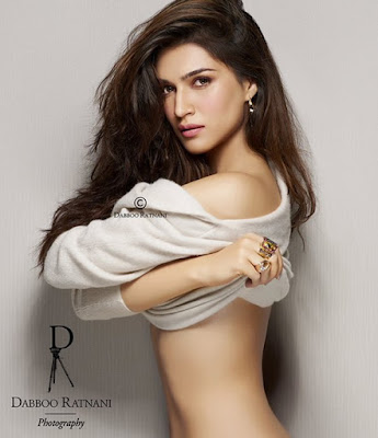 Kriti Sanon shoot for Dabboo Ratnani 2016 Calendar