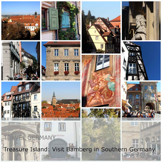 Travel Germany. Treasure Island Visit Bamberg in Southern Germany
