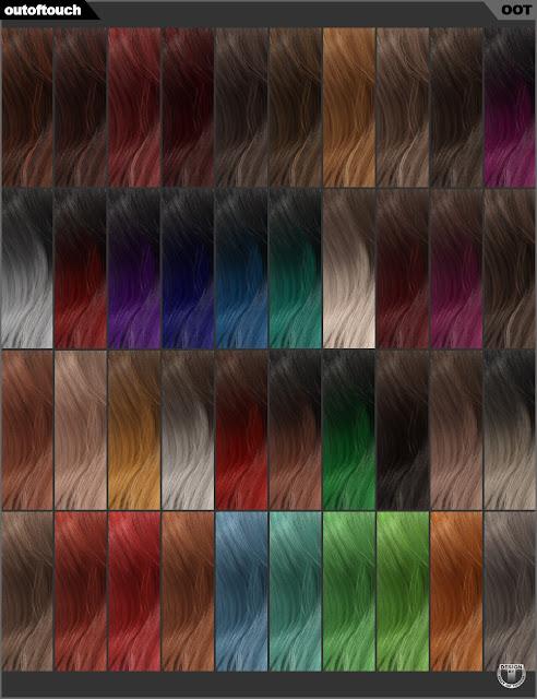 Jolina Hair Iray Texture XPansion
