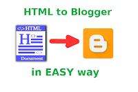 Convert HTML to Blogger XML Theme Tutorial [4 Steps]