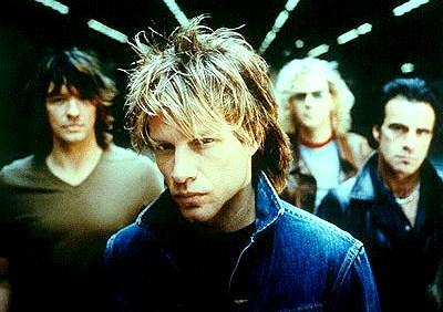 Foto de los miembros de Bon Jovi