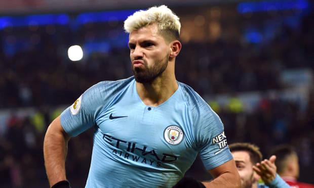 FT Man City 2-1 Liverpool: Sergio Aguero, Berkilau Rambut Putihnya, Bersinar Bak Mercusuar The Cityzens