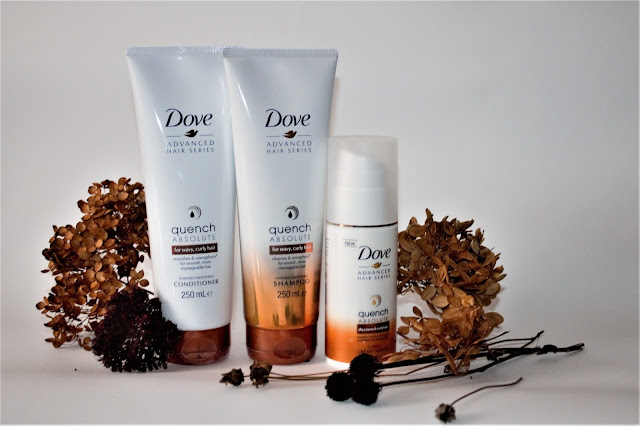 Dove, Advanced Hair Series, Quench Absolute, do włosów falowanych i kręconych