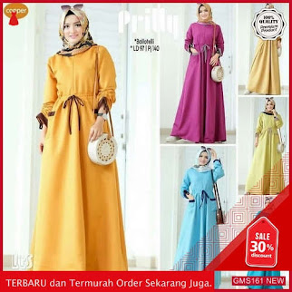 GMS161 YPNK161P174 Prilly Dress Terbaru Cantik Dropship SK0226540360
