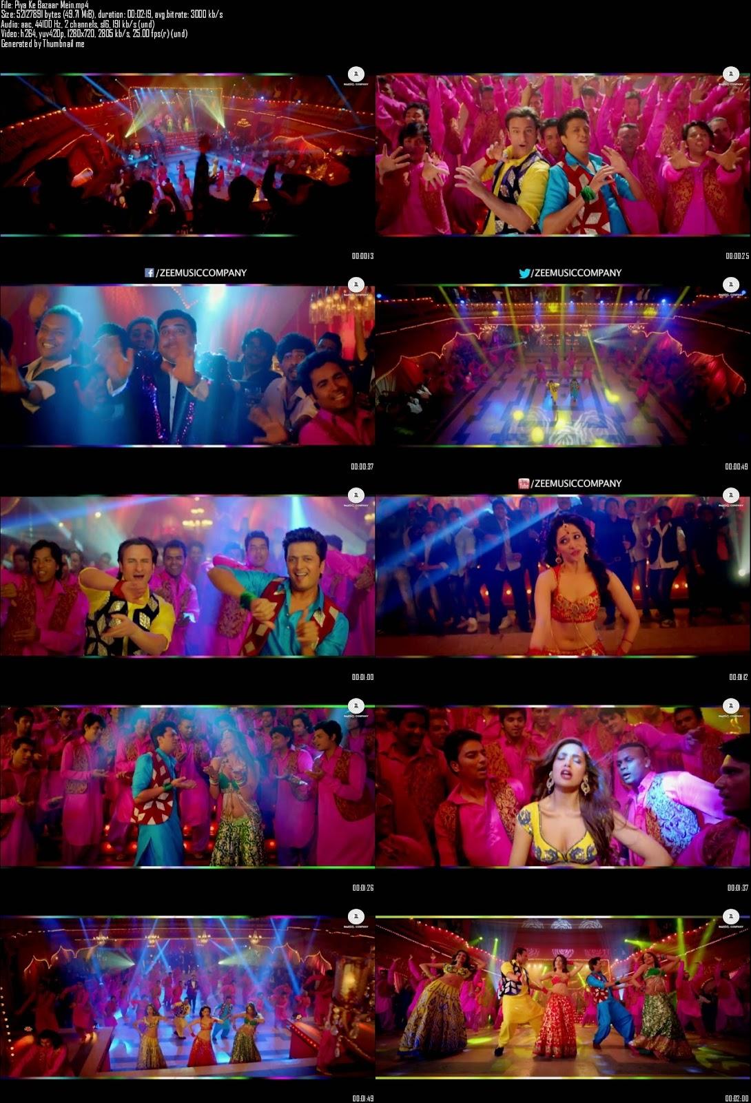 Mediafire Resumable Download Link For Video Song Piya Ke Bazaar Mein - Humshakals (2014)