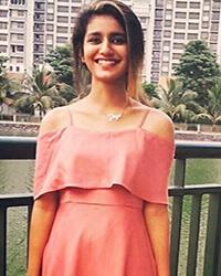 Actress Priya Prakash Varrier