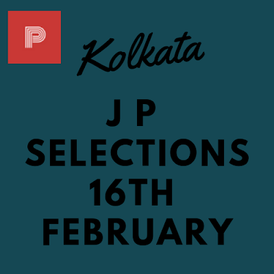 Kolkata Jackpot Selections 16th February