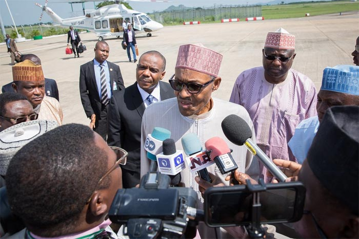Is there anyone that doesn't fall sick - Buhari slams critics as he departs for London