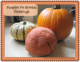 Pumpkin Pie Scented Playdough (No Cream of Tartar Needed!)