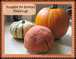 Pumpkin Pie Scented Playdough (No Cream of Tartar Needed!)