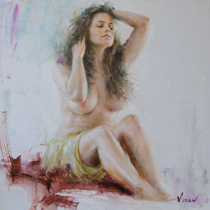 Итальянский художник. Vittorio Vidan Dangelico
