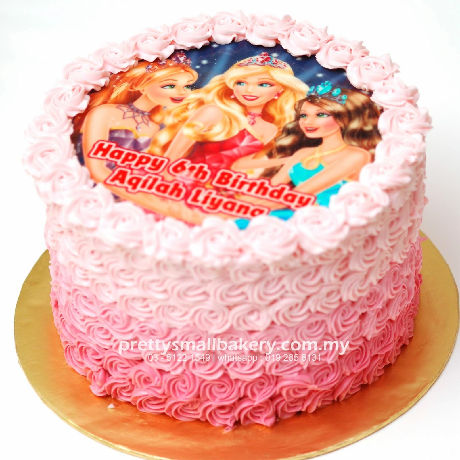 Kek Birthday Rainbow Prettysmallbakery