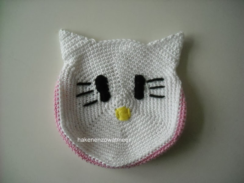 Patrón de Hello Kitty: ÁngelTerminología:pb punto bajopc punto de ... | 600x800