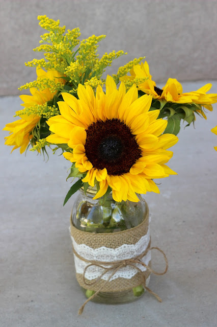Celebration flair summery sunflowers michelle james