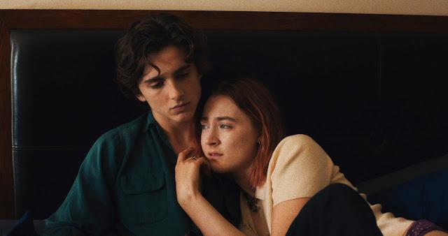 Saoirse Ronan Timothée Chalamet Greta Gerwig | Lady Bird