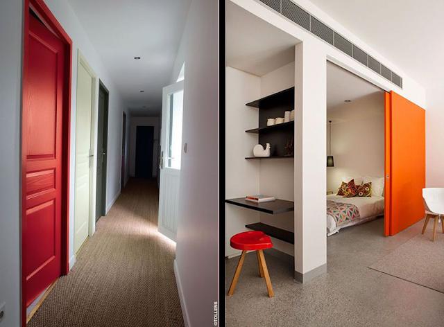 la fabrique d co oser la couleur peindre les portes de la maison l 39 int rieur et l 39 ext rieur. Black Bedroom Furniture Sets. Home Design Ideas