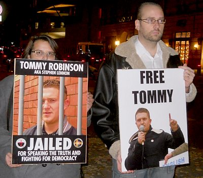 Vigil for Tommy Robinson in Berlin #1