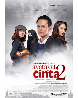 Download film Ayat Ayat Cinta 2 (2017) Full Movie 3GP MP4