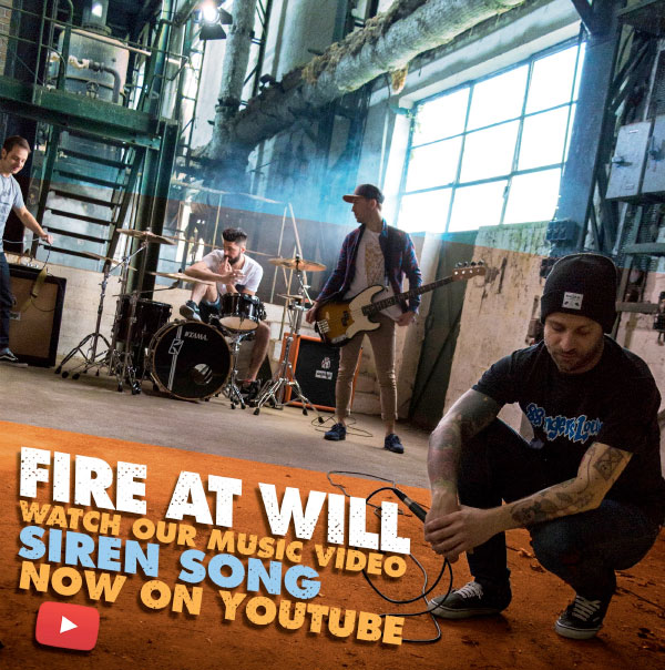 "Fire At Will release video for ""Siren Song"""