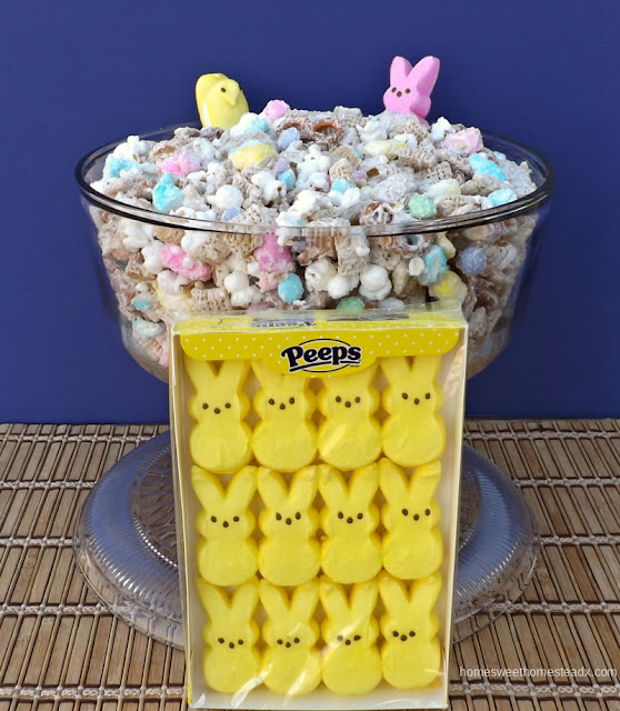 PEEPS Snack Mix: Home Sweet Homestead