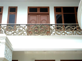 Pagar, Balkon, Besi Tempa, Klasik