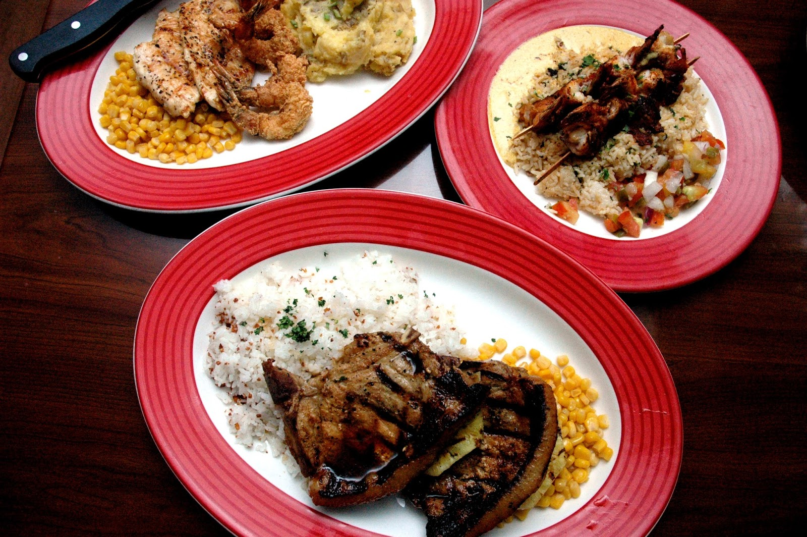 DUDE FOR FOOD: Fast-Forward to the Weekend at TGI Fridays