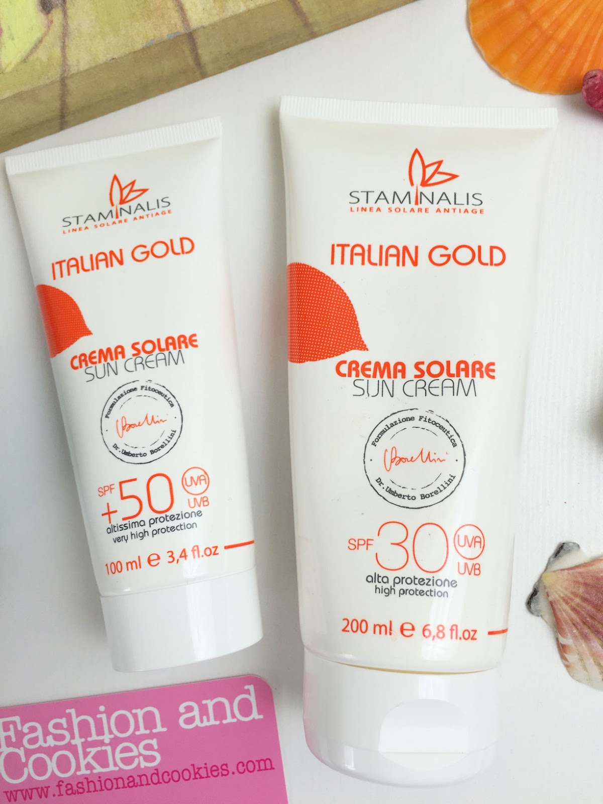Creme solari antiage Staminalis Italian Gold su Fashion and Cookies beauty blog, beauty blogger