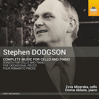 Stephen Dodgson - Complete music for cello and piano - Toccata Classics