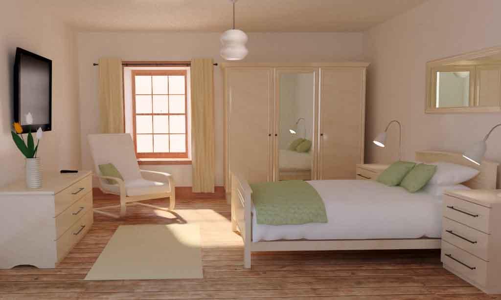 80 Desain Kamar Tidur Sederhana Dengan Konsep Minimalis