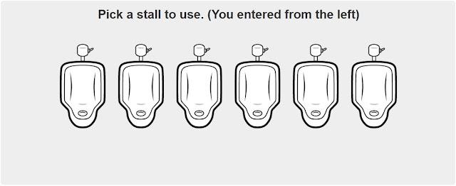 Urinalman urinal etiquette 1