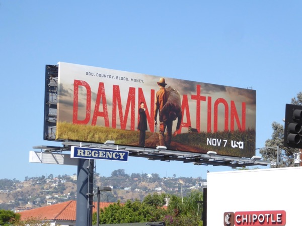 Damnation season 1 billboard