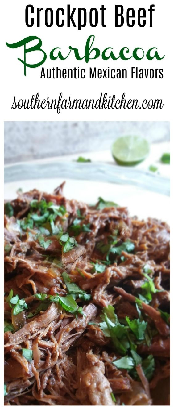Mexican Beef Barbacoa
