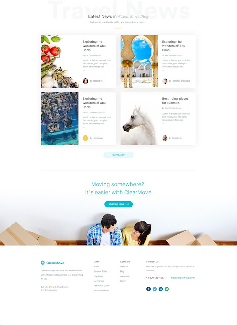Clearmove Homepage