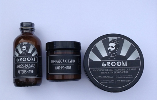 Les industries Groom ~ #Review #Giveaway AfterShave, Hair Pomade, and Trial Kit Beard Care