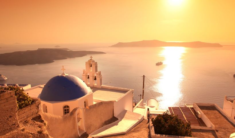 Sunset view from Oia, Santorini - Ioanna's Notebook