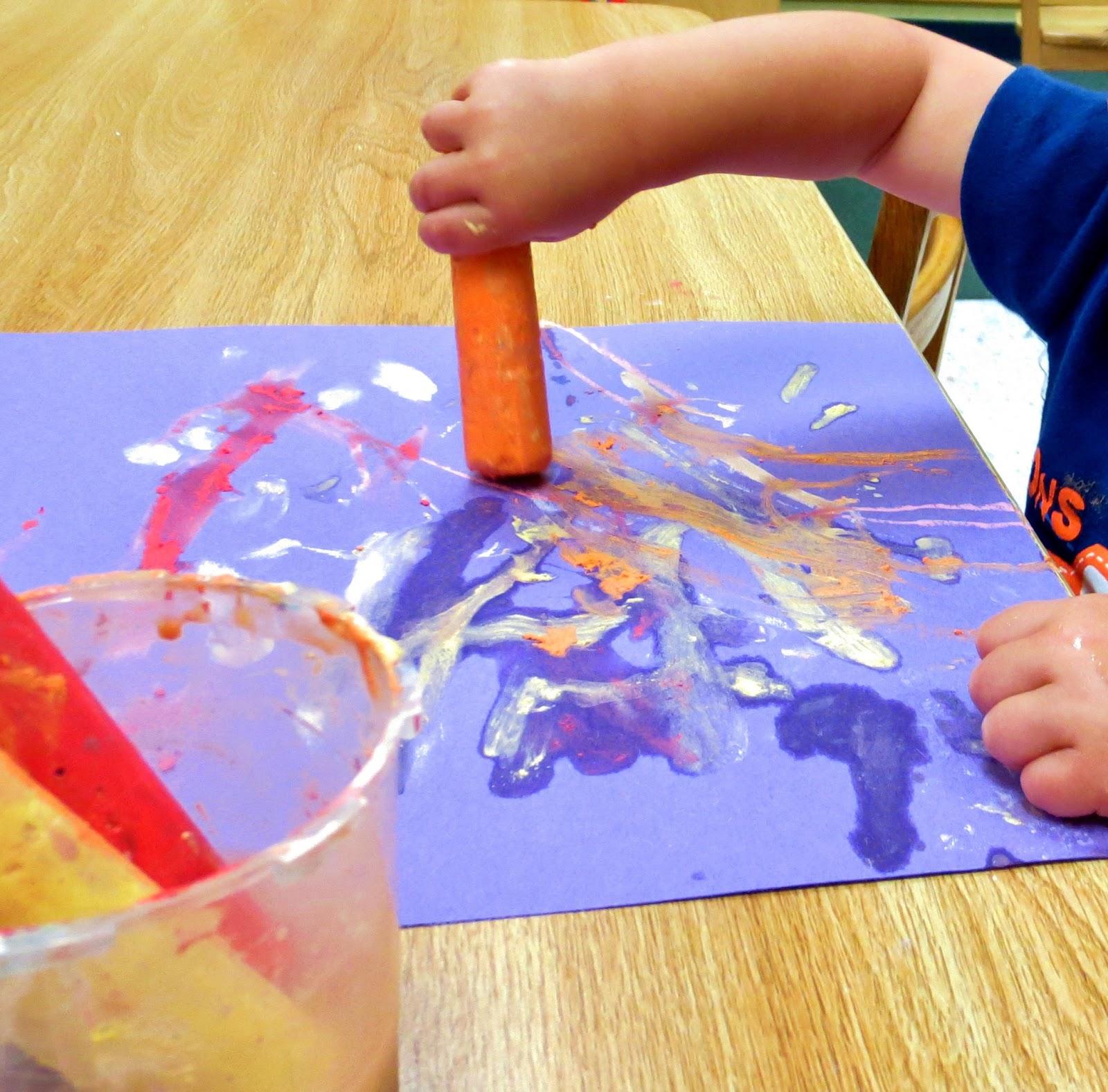 Princesses Pies Amp Preschool Pizzazz Wet Chalk Painting