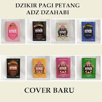 Buku Dzikir Pagi & Petang Adz Dzahabi Cover Baru