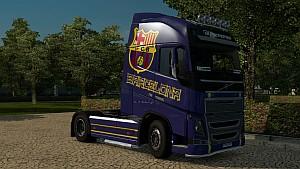 Barcelona skin for Volvo