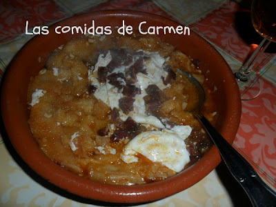 Las comidas de carmen mi sopa castellana - Sopa castellana casera ...
