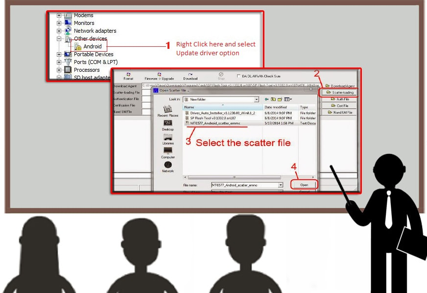 How to Flash Bedove X8D using SP FlashTool