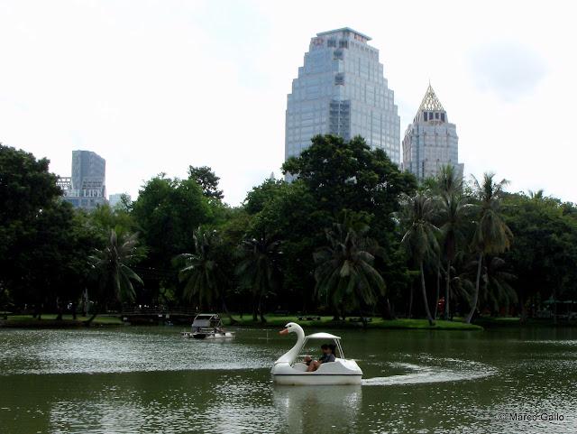 PARQUE LUMPHINI. Bangkok. Tailandia