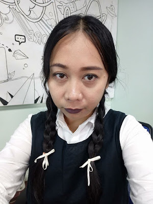 Halloween Cebu Wednesday Addams by JJVestil