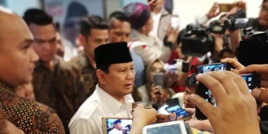 Prabowo Berduka dalam Bencana Tsunami Selat Sunda