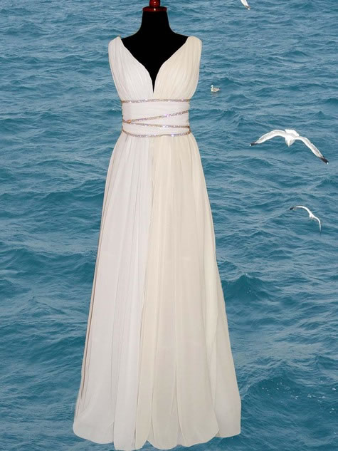 Heartbeats For Evening Gowns Roman Style