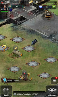 Screenshots of the Last empire: War Z for Android tablet, phone.