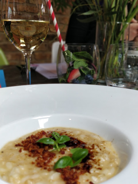 high fibre risotto