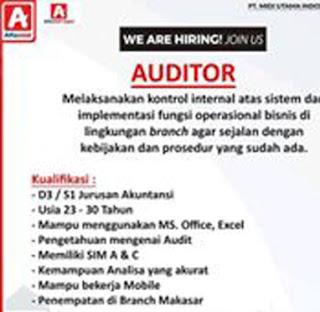 Lowongan Kerja Auditor di PT. Midi Utama Indonesia, Tbk