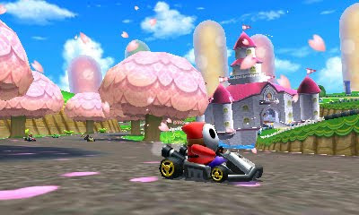Mario Kart 7 (December 4th for NA) - new screens - 3DS/DS